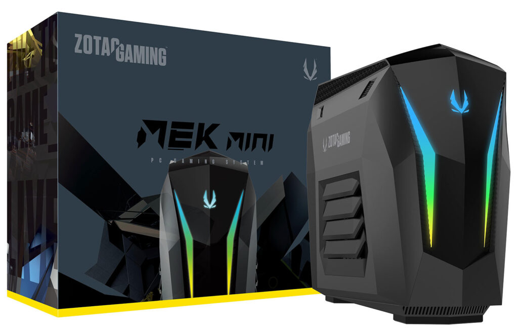 ZOTAC Refreshes the MEK Mini Gaming PCs with GeForce SUPER Graphics