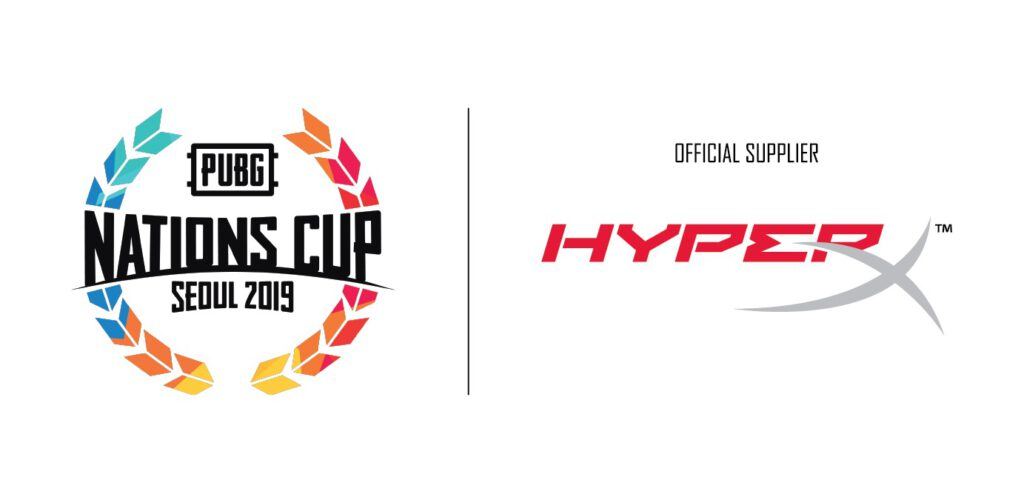 Hyperx Announced as Official Sponsor of PUBG NATIONS CUP