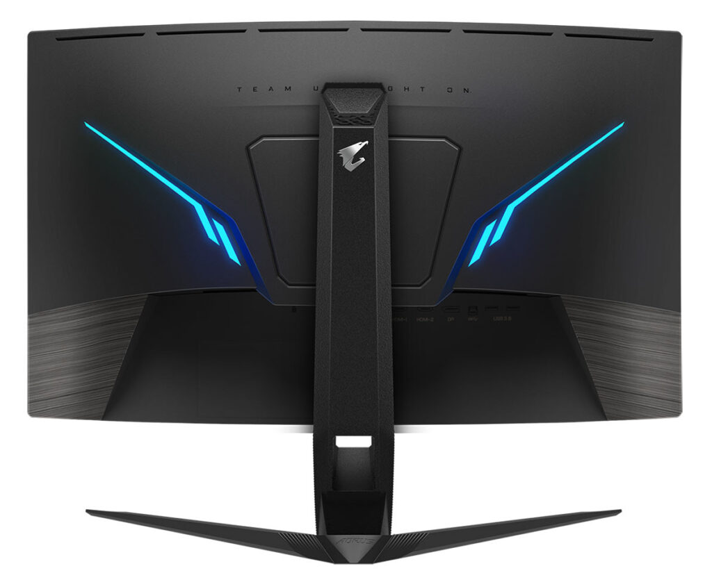 GIGABYTE Announces AORUS CV27Q Gaming Monitor with Black Equalizer 2.0