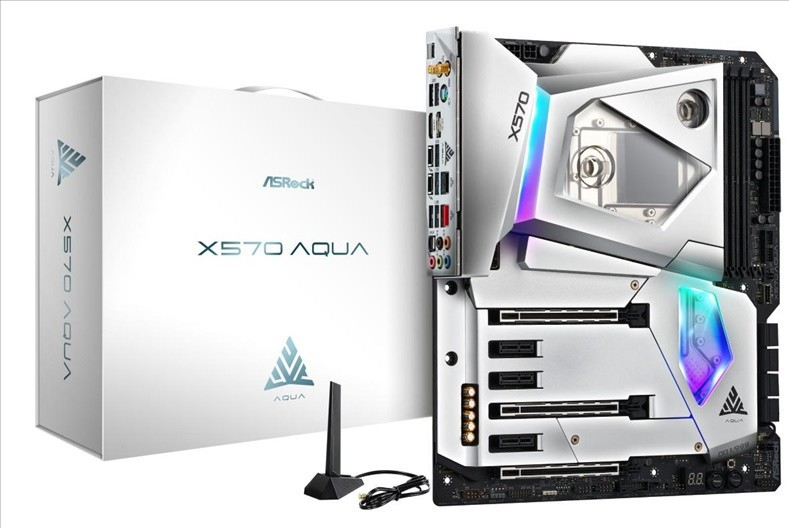 ASRock Launches the X570 AQUA Motherboard - Only 999 Units Produced