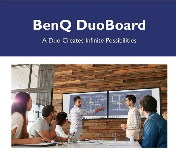 BenQ Launches Pioneering Smart Corporate Display Solutions Designed for Collaborative and Smart Workplaces