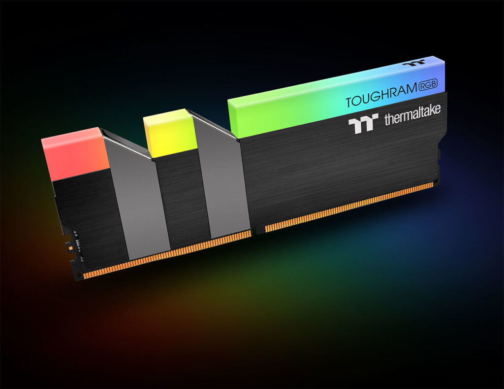 Thermaltake Launches TOUGHRAM RGB DDR4 Memory Series