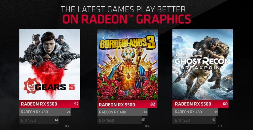 AMD Introduces Radeon RX 5500 Series Graphics Cards