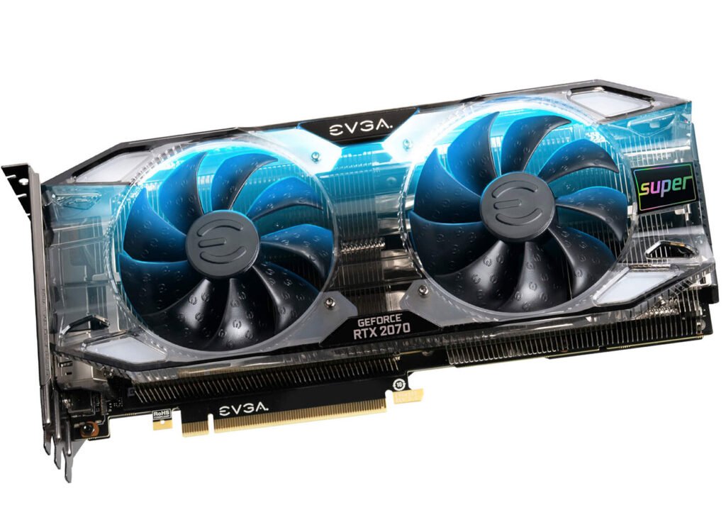 EVGA Intros GeForce RTX 2070 Super Ultra+ Series with Overclocked Memory