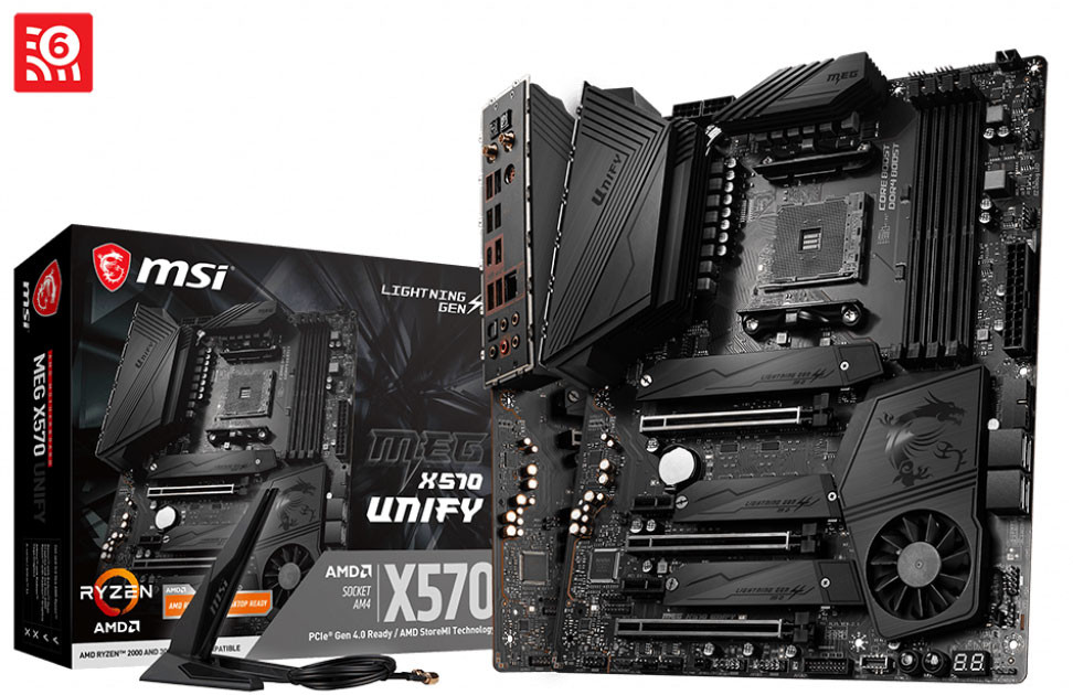 MSI Announces the MEG X570 Unify Motherboard