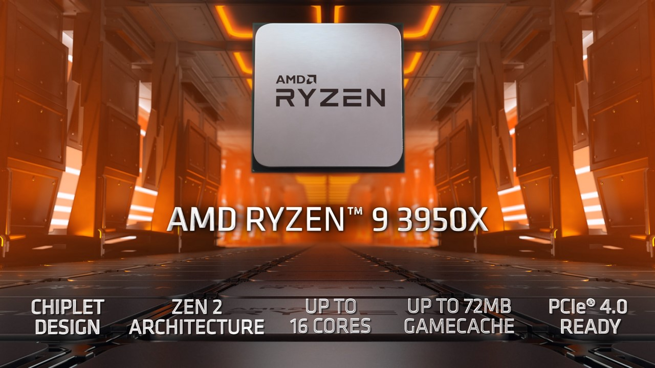 Amd Introduces World S Most Powerful 16 Core Consumer Desktop Processor The Amd Ryzen 9 3950x