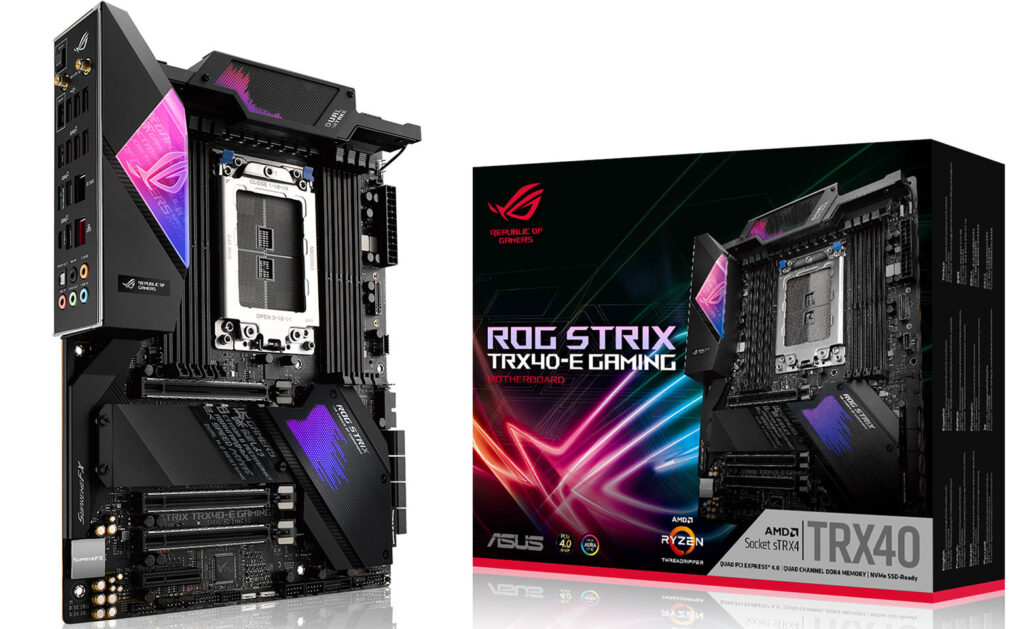 ASUS Announces Three TRX40 Motherboards for AMD Threadripper: ROG Zenith II Extreme, ROG Strix TRX40-E Gaming, and Prime TRX40-Pro