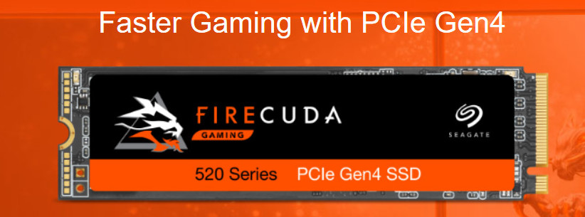 Seagate's FireCuda Gaming Storage Solutions