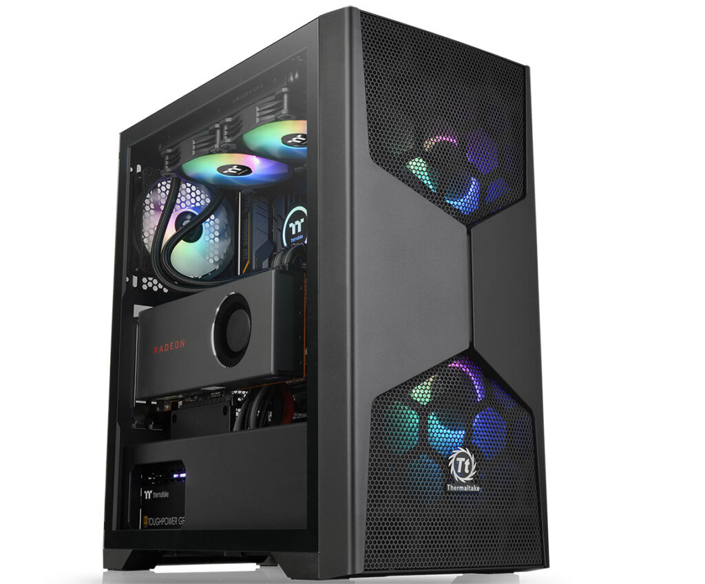 Thermaltake Announces New Commander G Series Tempered Glass ARGB Cases