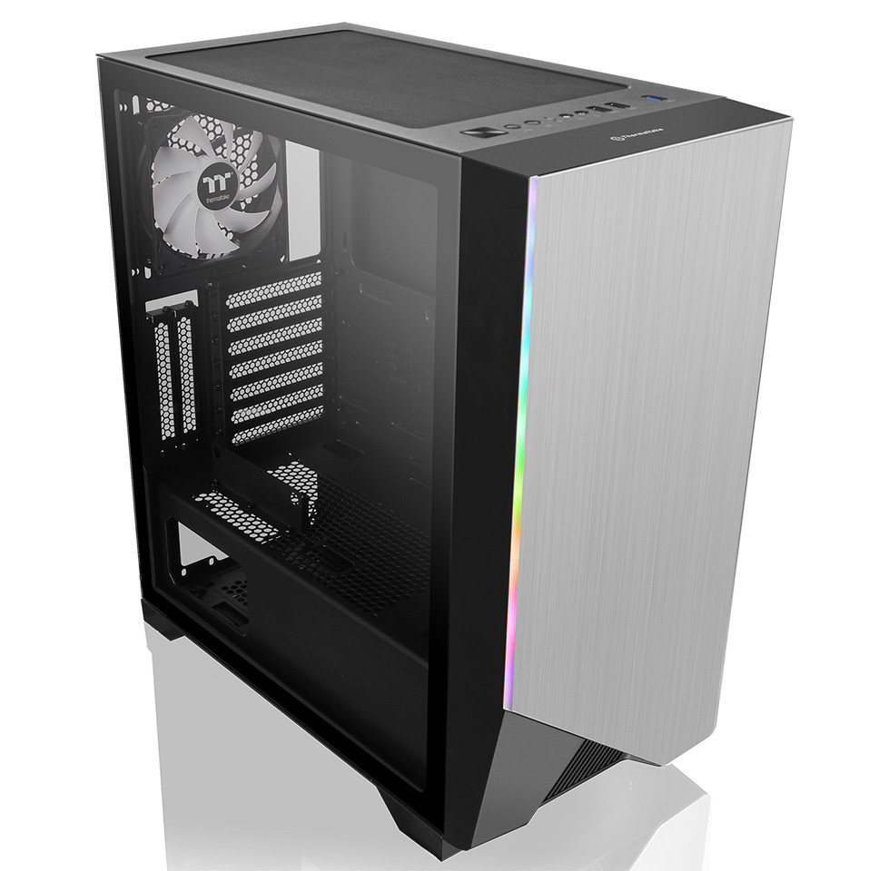 Thermaltake Announces the H550 TG ARGB Mid-Tower Chassis