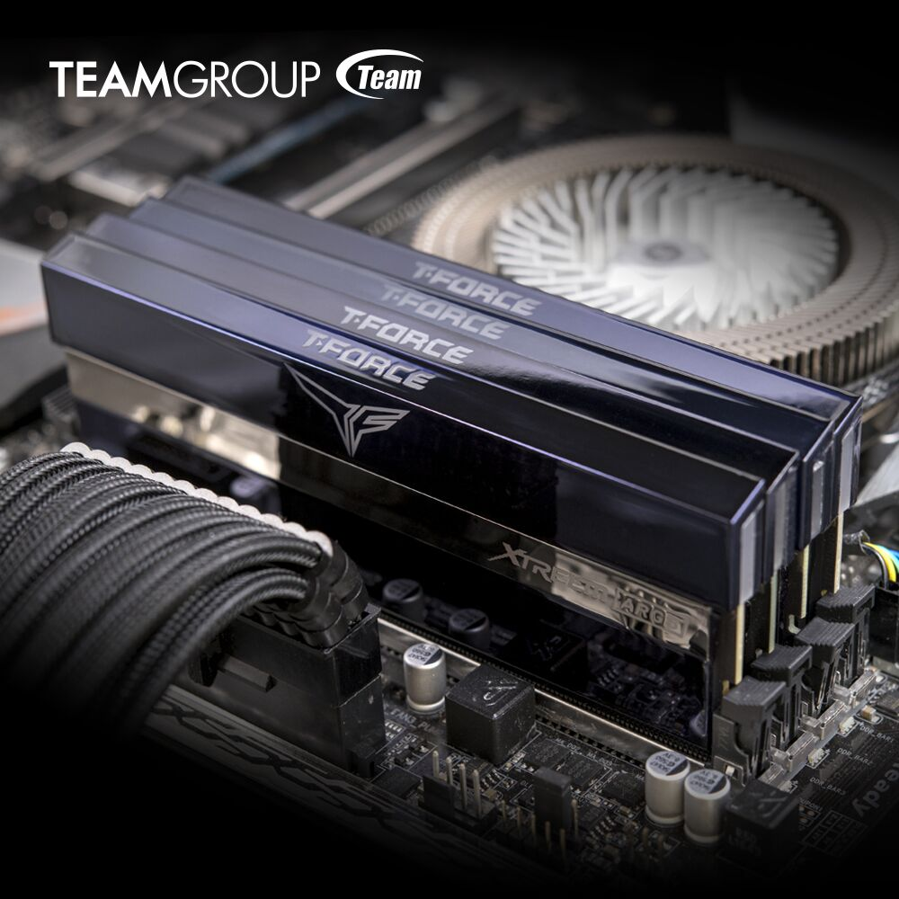 TEAMGROUP T-FORCE Releases XTREEM ARGB Gaming Memory with Industry's First Mirror Design