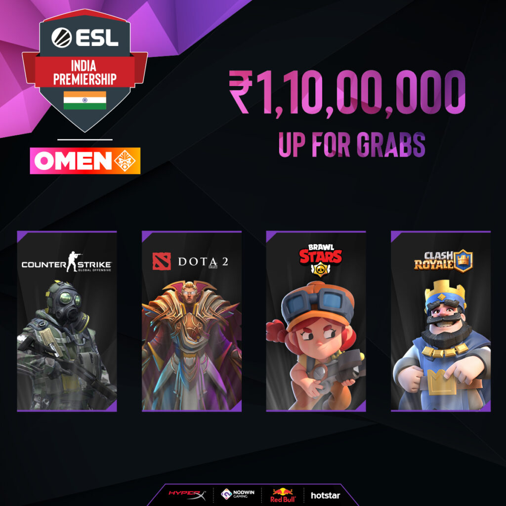 ESL India Premiership Winter Season comes to the national capital for the LAN Finale
