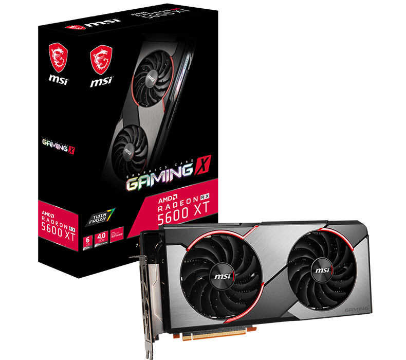 MSI Announces Radeon RX 5600 XT Gaming and Mech Graphics Cards