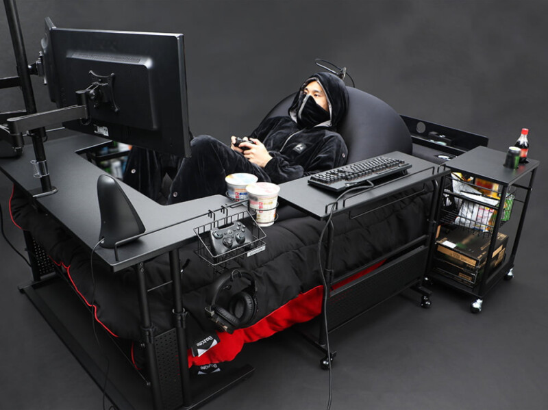Bauhütte Introduces the Gaming Bed in Japan