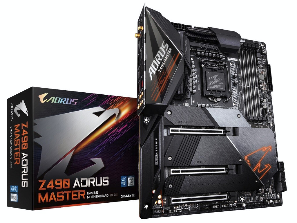 GIGABYTE Launches Z490 AORUS Motherboards