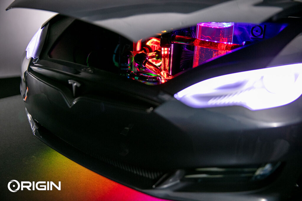 Origin PC Announces The Ludicrous PC: High-End Custom PC Inside a Tesla-inspired Chassis
