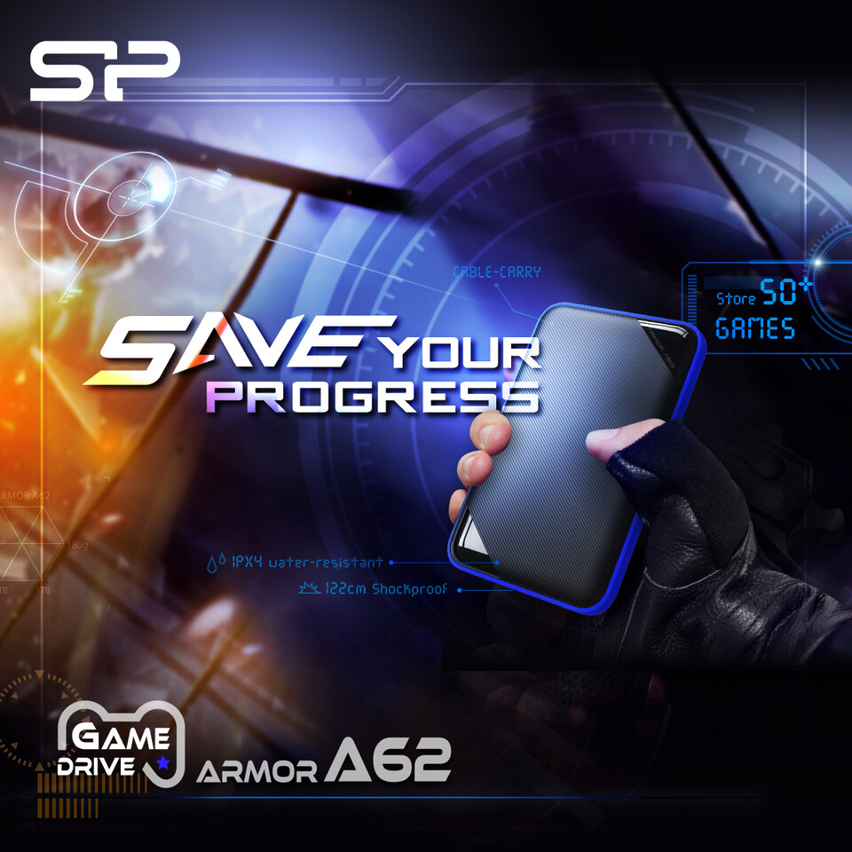 Silicon Power Announces the A62 Game Drive External HDD