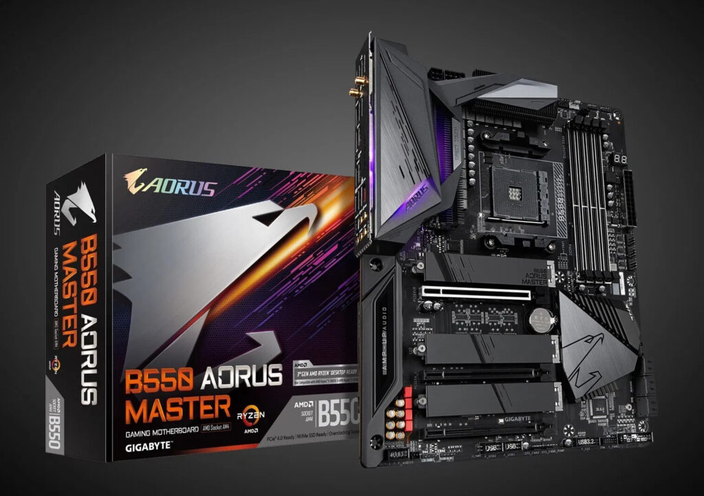 GIGABYTE Launches its B550 Motherboard Lineup