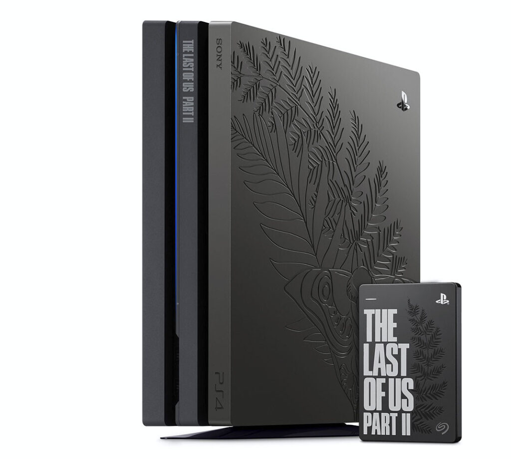 Sony Releases Last of Us Part II Limited Edition PS4 Pro Bundle
