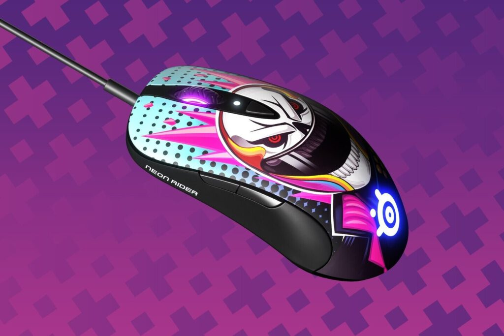 SteelSeries Introduces New Limited-Edition CS:GO Neon Rider Collection