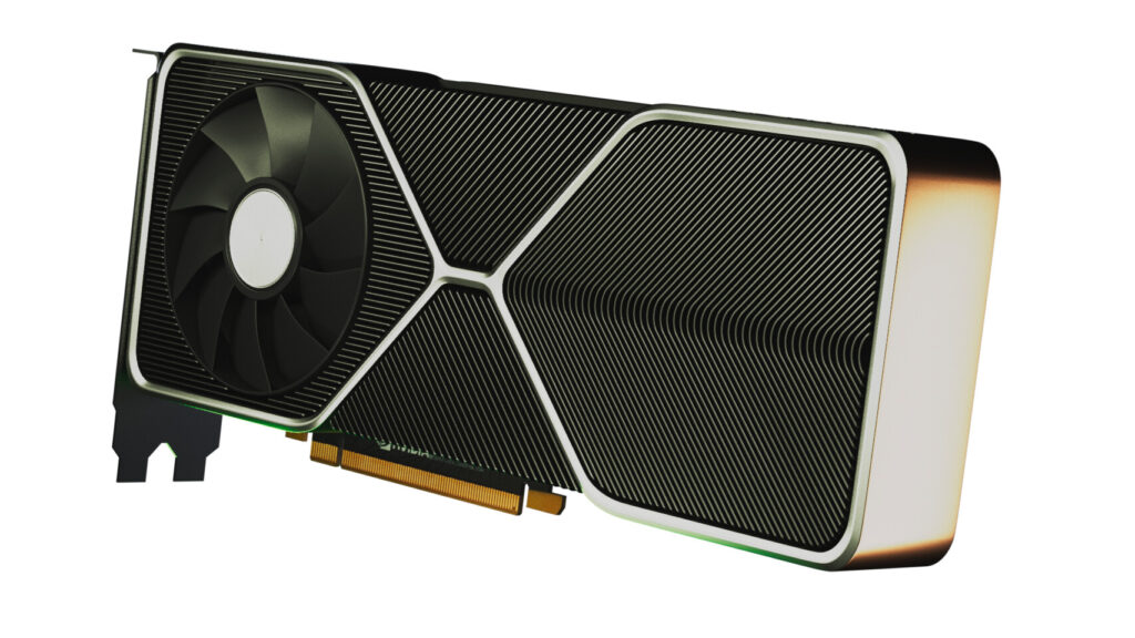 NVIDIA GeForce RTX 3080 Rendered By Fan