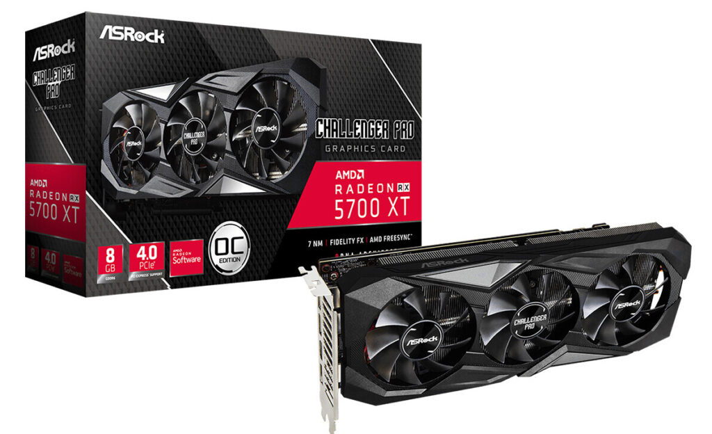 ASRock Launches the Radeon RX 5700 XT Challenger Pro 8G OC Graphics Card