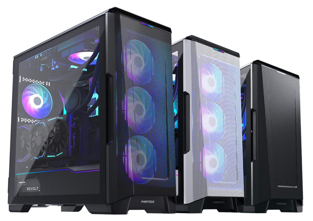Phanteks Launches Eclipse P500A with 1mm Mesh and SK PWM Fans
