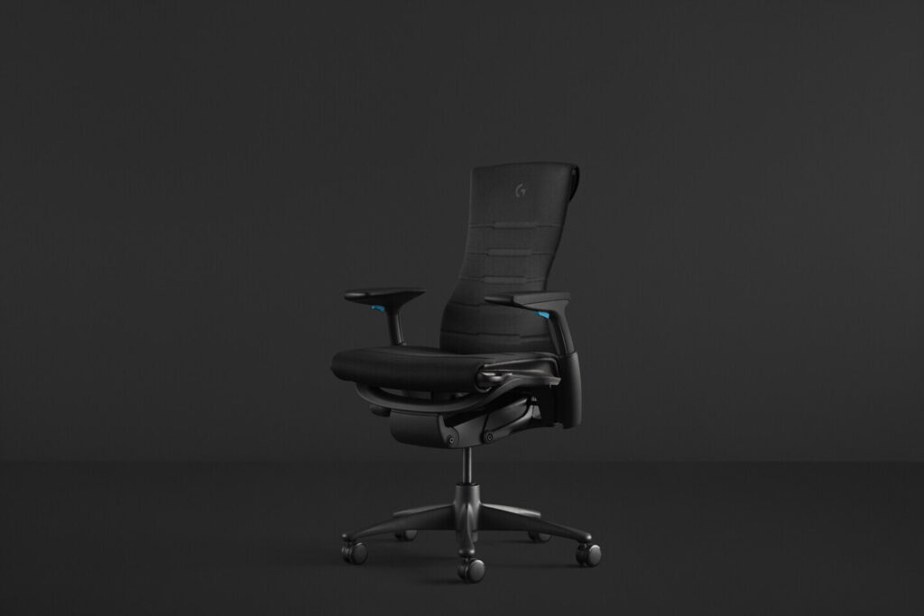 Herman Miller And Logitech G Enhance The Embody Chair To Meet Needs Of Pro Gamers And Streamers