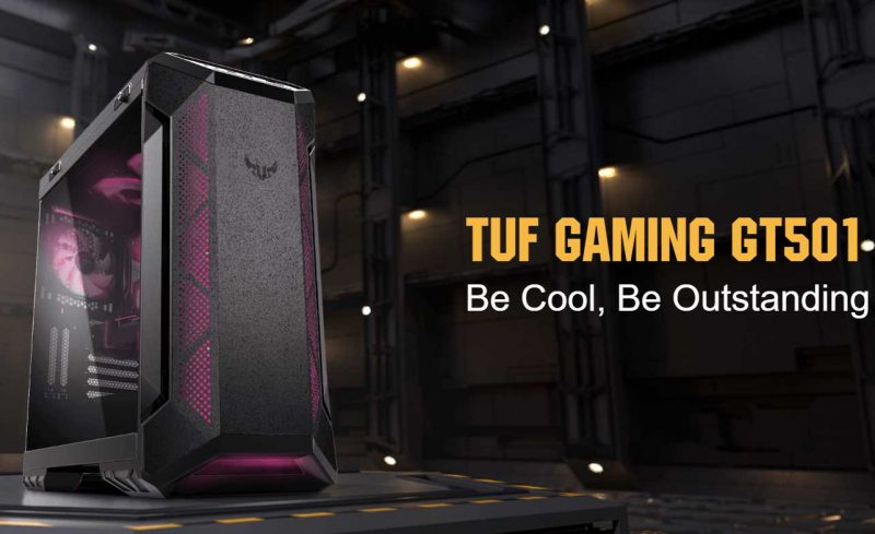 ASUS TUF Gaming GT501 Case Review