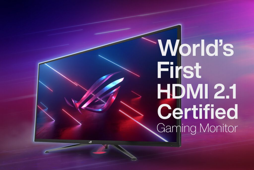 ROG Announces World's First HDMI 2.1-Certified with 4K 120Hz Gaming Monitor