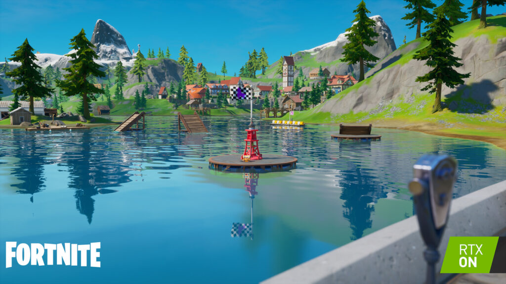 Fortnite Receives NVIDIA RTX, DLSS, & Reflex Support