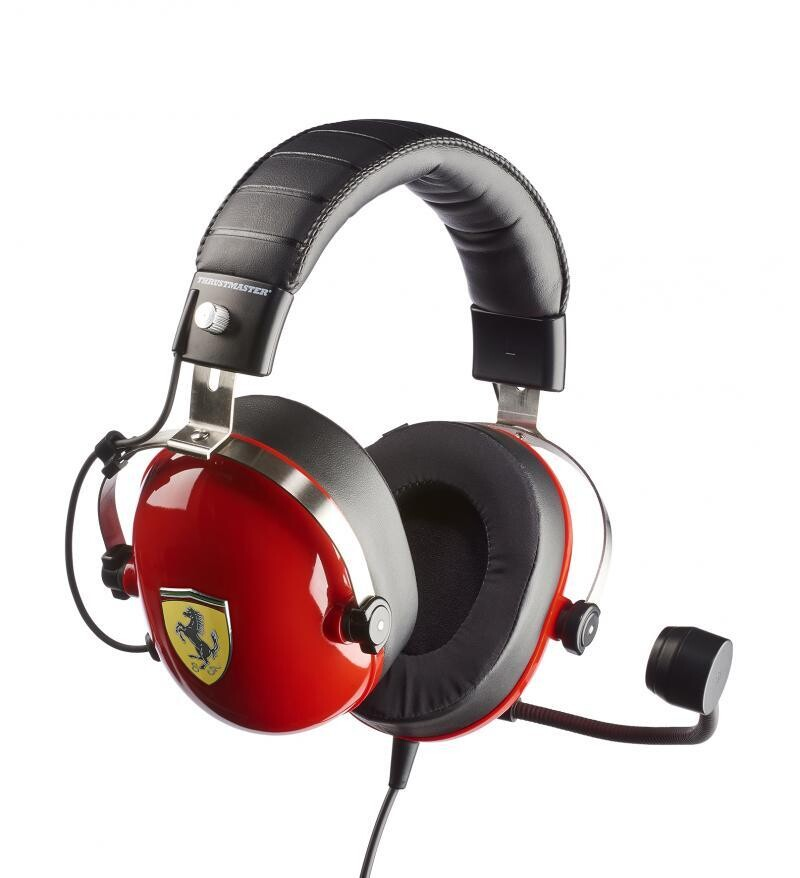 Thrustmaster Releases T.Racing Scuderia Ferrari Edition-DTS Gaming Headset