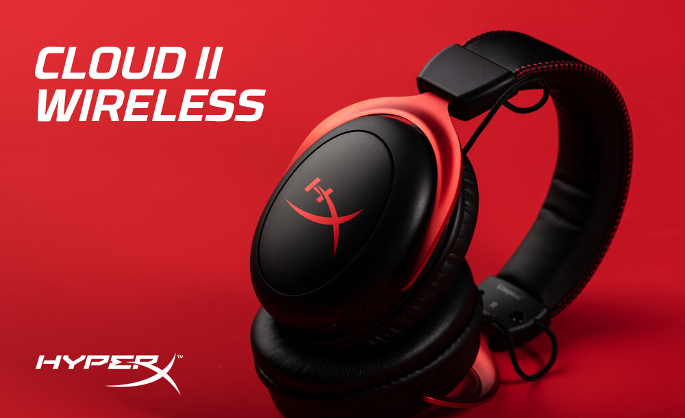 HyperX Launches Wireless Cloud II Gaming Headset