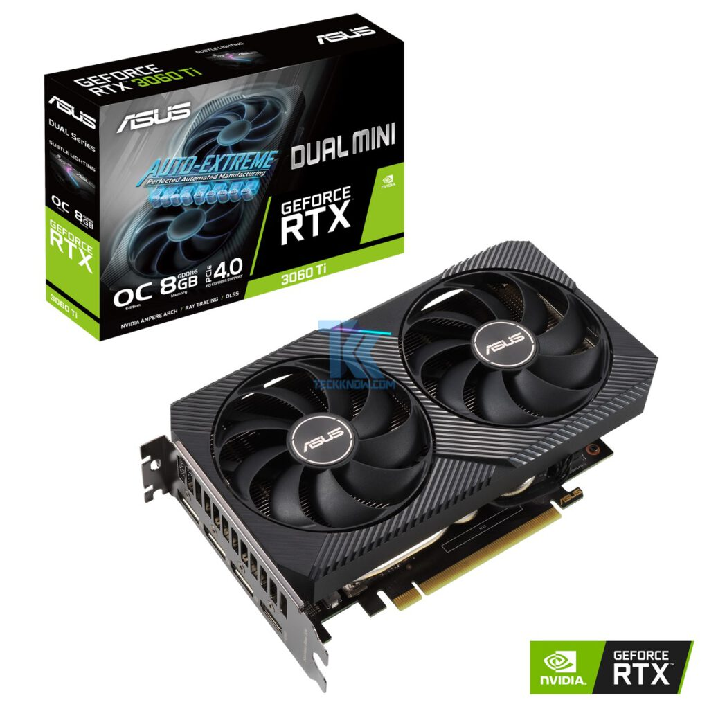 ASUS Announces GeForce RTX 3060 Ti Series Graphics Cards