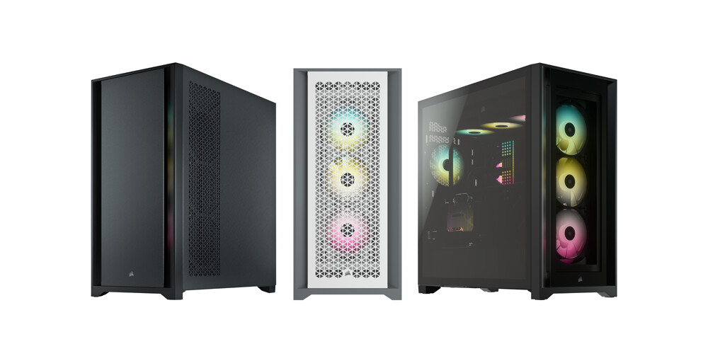 For an Immaculate Build That Keeps its Cool - CORSAIR Launches Versatile 5000 Series of Mid-Tower Cases