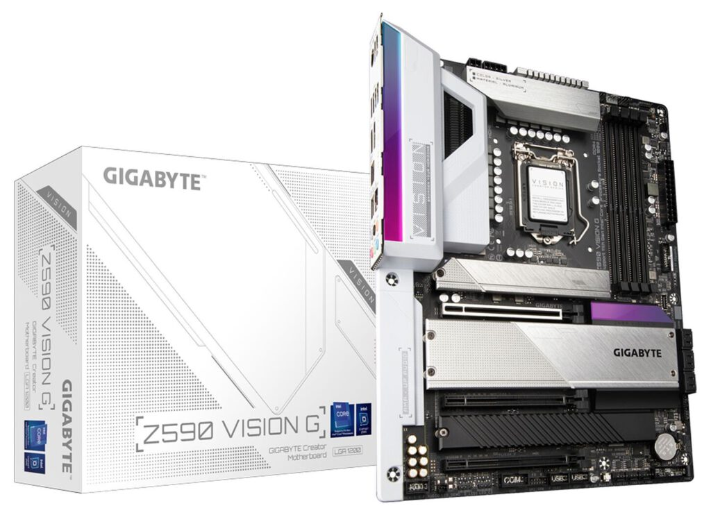 Gigabyte Announces Z590 Vision Motherboard Lineup: Empowering Creators
