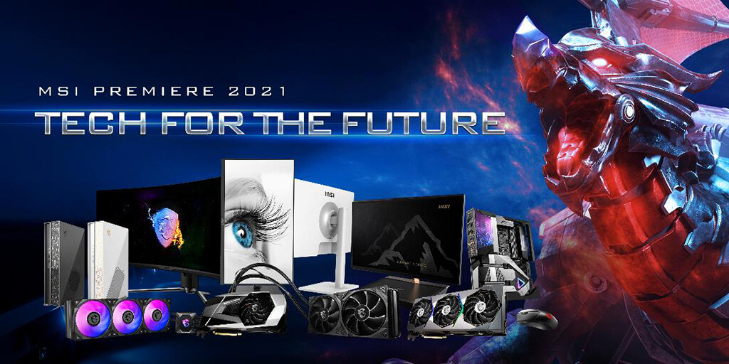 MSI Unveils Innovations in Gaming Hardware & Computing at MSI Premiere 2021