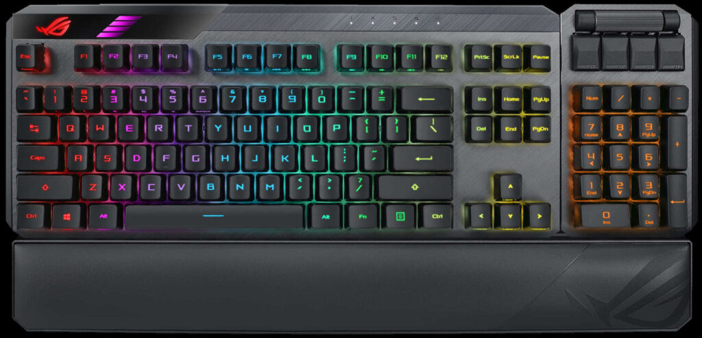 ASUS Announces ROG Claymore II Gaming Keyboard with Optical Mechanical Switches