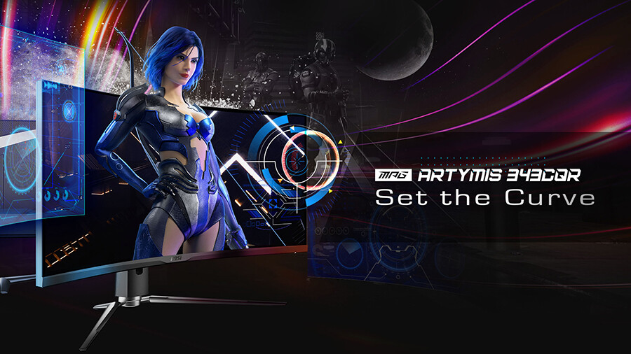 MSI Announces the MPG ARTYMIS 343CQR Gaming Monitor
