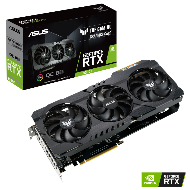 ASUS TUF Gaming RTX 3060 Ti OC Review