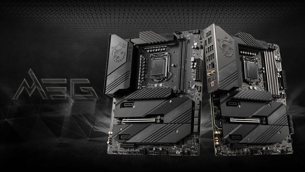 MSI Announces MEG Z590 ACE Gold Edition and Z590 Unify Series
