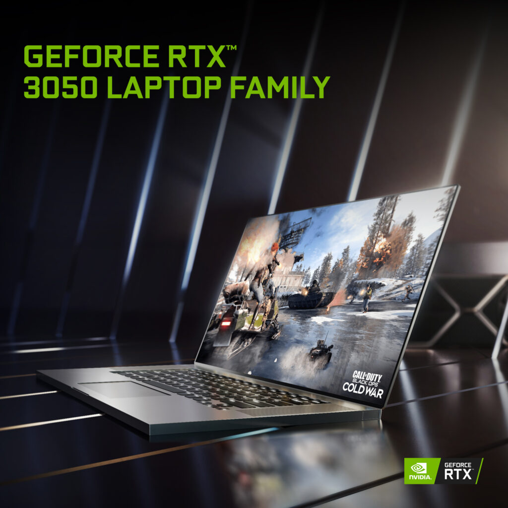 NVIDIA Transforms Mainstream Laptops into Gaming Powerhouses with GeForce RTX 3050 Ti and 3050 Laptop GPUs