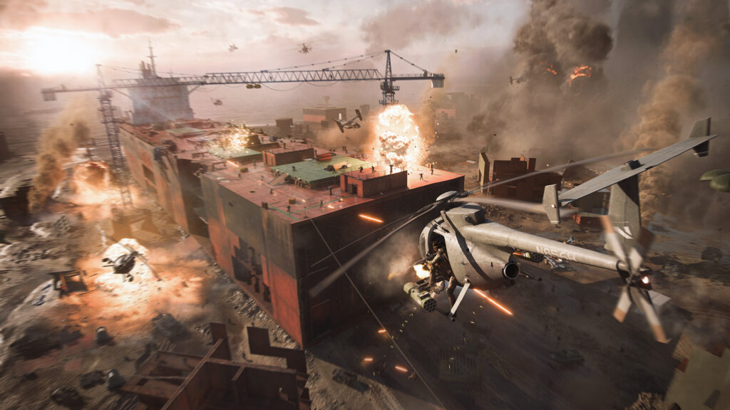 Battlefield 2042 marks the return to the iconic all-out warfare of the franchise
